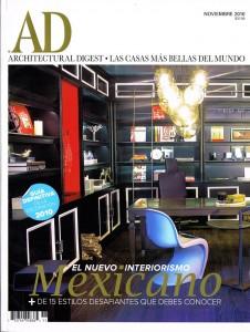 Entrevista a Paulina Jimenez en Architectural Digest Mexico